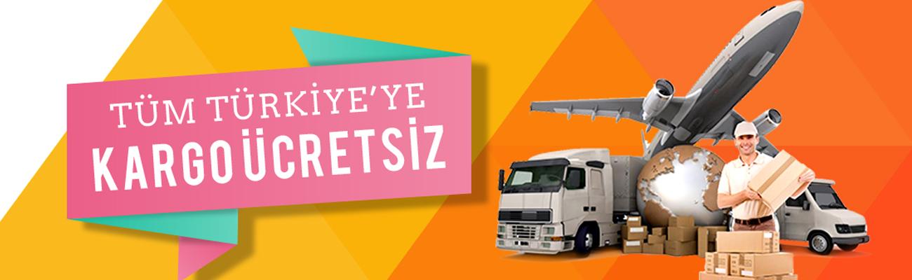 Tüm Türkiye ücretsiz kargo